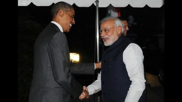 Obama, Modi vow to boost ties, create world model