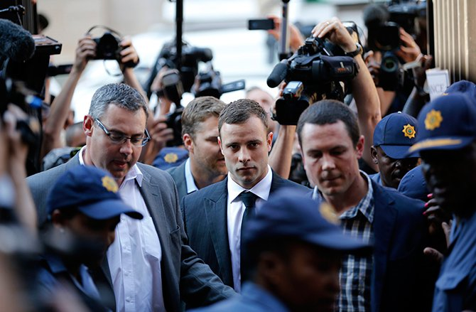 Pistorius cleared of murder charges