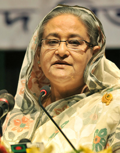 Sheikh Hasina. Star file photo