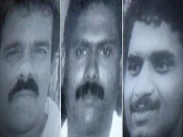 Santhan, Murugan and Perarivalan were convicted in 1998 for the 1991 killing. NDTV file photo