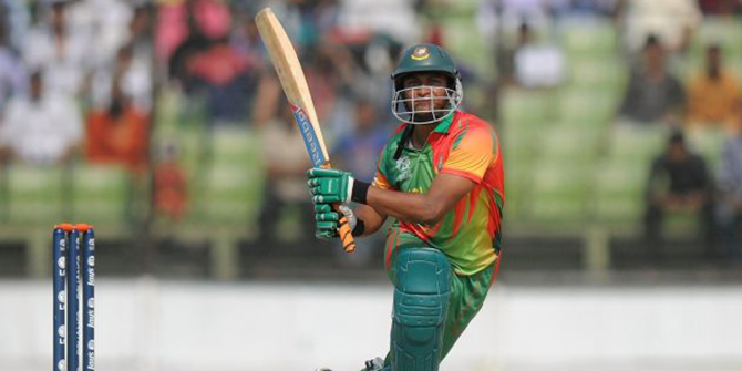 Shakib, Dawlat fined for misconduct