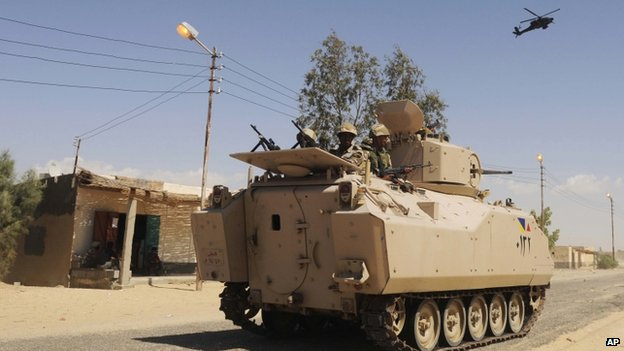 Egypt imposes state of emergency in Sinai after attacks