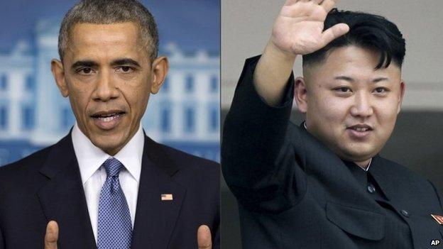 US sanctions North Korea over Sony