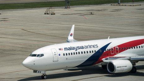 Malaysian Airlines flight avoids Ukranian airspace