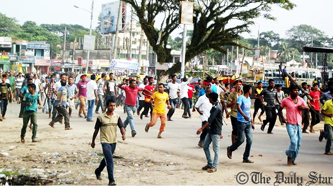 CNG drivers vandalise 60 vehicles in Sylhet