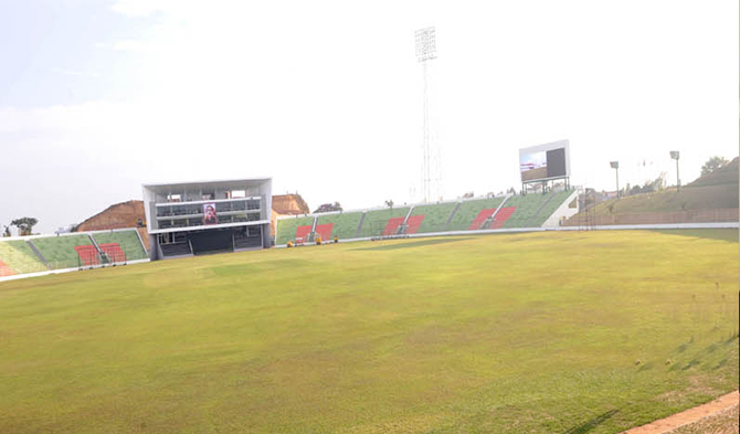 Sylhet International Cricked Stadium. Photo: PID