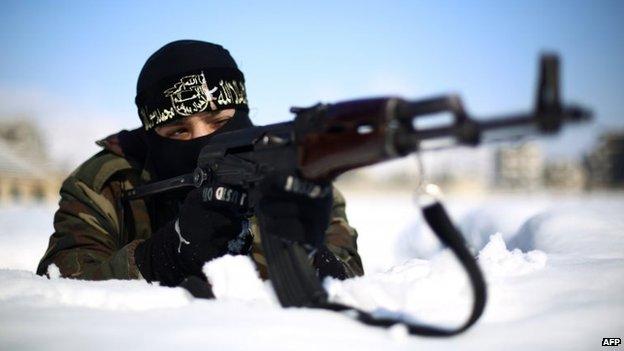 Syria 'informed on anti-IS strikes'