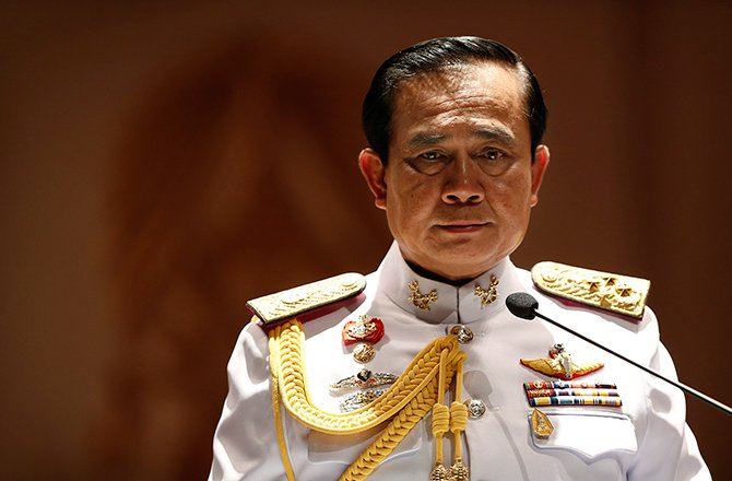 Thai Gen Prayuth receives royal endorsement