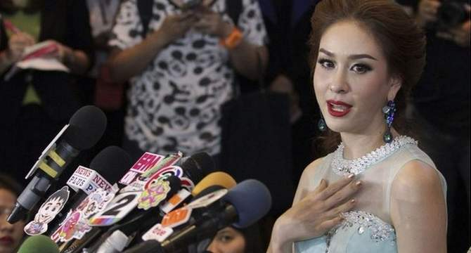 Thai beauty queen quits over execution quote