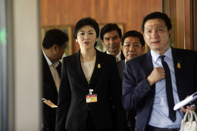 Ousted Thai PM allowed to travel abroad