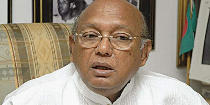 Commerce Minister Tofail Ahmed