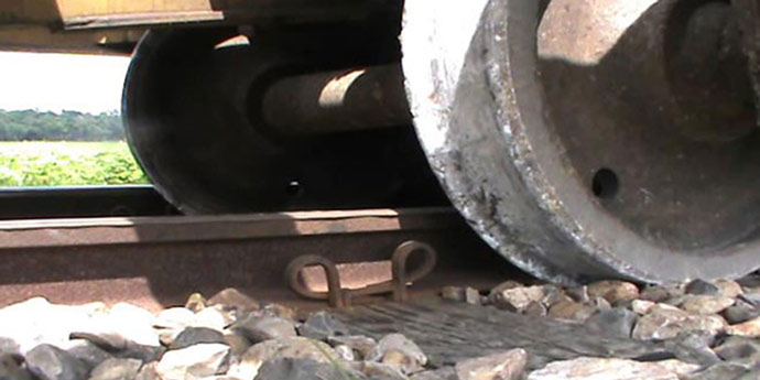 In this November 2 file photo, wheels of a compartment of a Chittagong-bound train from Sylhet derailed in Comilla halting train service on Dhaka-Chittagong and Dhaka-Sylhet routes.