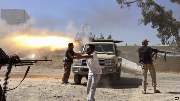 Fighting between rival militias in Tripoli and Benghazi has intensified in recent weeks
