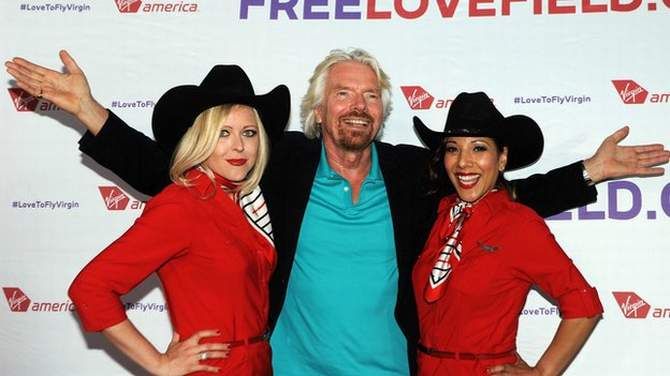 Sir Richard Branson is worth £3.6bn according to the list. Photo: BBC