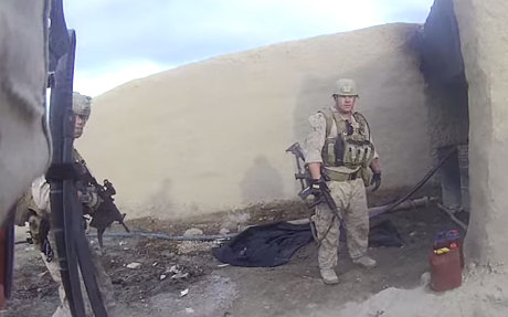 US Marine survives headshot from Taliban (video)