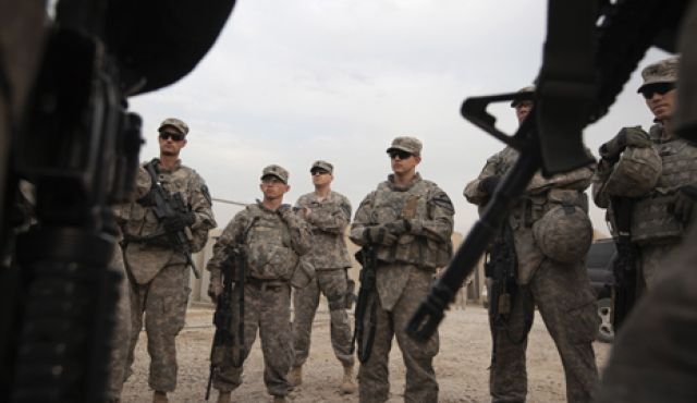 First US troops head to Middle East to train Syrian opposition