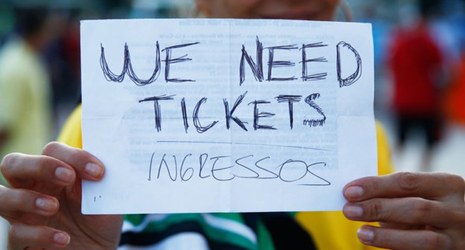 Police believe the tickets were sold illegally to unsuspecting fans. Photo: Getty Images