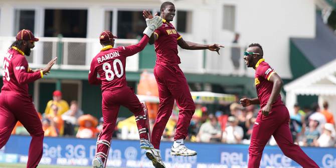 WI beat Pakistan by 150 runs