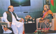 Hasina, Nawaz discuss power, terrorism
