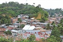 Living in danger of landslide