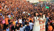 Microsoft Bangladesh attempts World's largest selfie ever