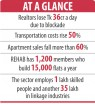 Realtors' woes compounded by blockade