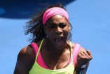 Serena on fire as Wawrinka crushes Japan's hopes at Australian Open