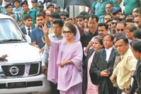 Judge dealing Khaleda's graft cases transferred