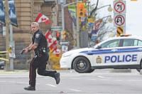 Gunshots fired inside Canada parliament