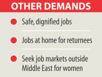 Govt must ensure migrant workers' welfare