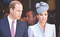 Duchess of Cambridge expecting baby in April