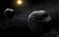 Earth rocked by double space impact
