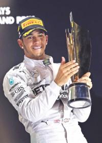 Hamilton's 2nd title