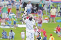 Hashim hits double tons
