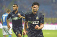 Hernanes rescues Inter