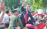 Indonesia's Widodo sworn in as president
