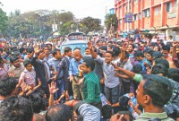 Nahid pledges steps to recover JnU dorms