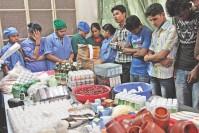 Rab seals off illegal medicine factory