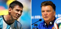 Messi, Van Gaal may be a meeting of mastery