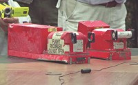 Rebels hand over bodies, black boxes