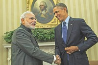 Obama makes pitch for affections of Modi govt