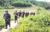 Tension rises on Myanmar border
