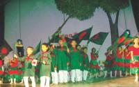 Natunkuri Nursery School stages dance drama