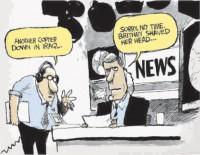 IRRELEVANT JOURNALISM