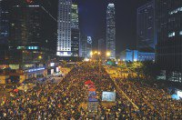 HK protesters dig in for long haul