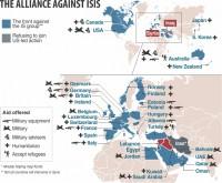 Air strikes widen, intensify