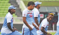 Windies prepared for trial by spin