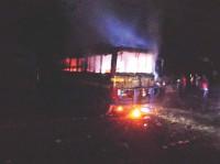 Violence on amid hartal, blockade