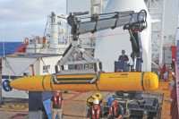 Undersea drone hunt may take 2 months