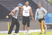 Calm Dhoni aims at the third